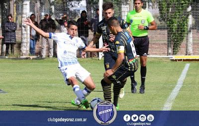 AFA - Reserva - Olimpo empató ante Godoy Cruz - Ramíro Sánchez en el banco aurinegro no sumó minutos en cancha.