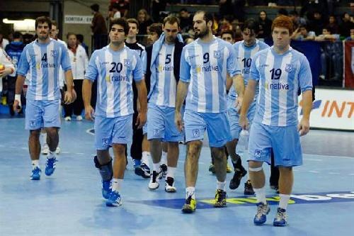 Argentina perdió en su debut en el mundial de Handbal.