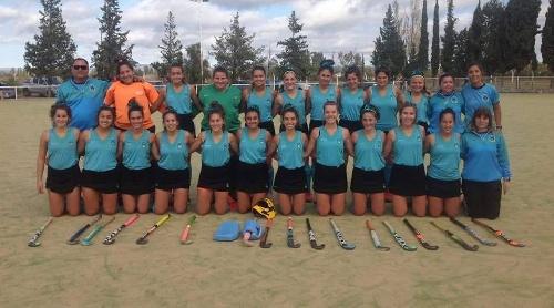 Hockey Femenino - Derrota del Seleccionado de la Asociación en San Rafael ante la Federación Chaqueña
