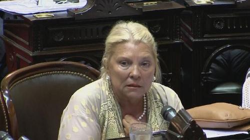 """Elisa Carrió y su proyecto para """"recuperar lo robado"""" por la corrupción"""