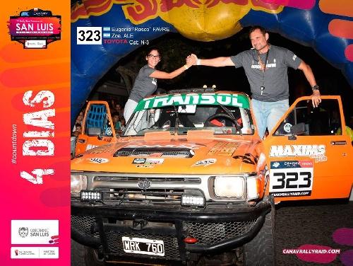 Rally - Eugenio Rosco Favre estará presente en la fecha del Campeonato Argentino en San Luis.