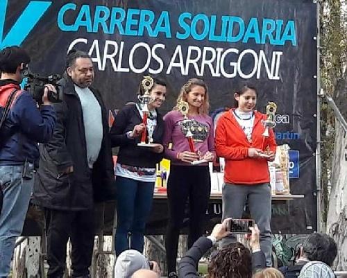 Atletismo - Yani Clair y Avelino Lozano ganadores en sus categorías en Bahía Blanca.