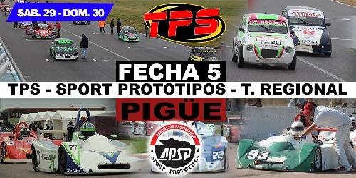 Las zonales corren este fin de semana en el Autódromo Ciudad de Pigüé.