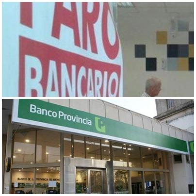 Anunciaron paro de 48 hs. en Bapro con lo que sumarían una semana sin bancos. Los bancos privados aún no decidieron parar