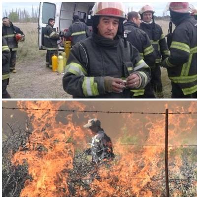 Dolor en Río Colorado por un fatal accidente que involucró a seis bomberos con un fallecimiento