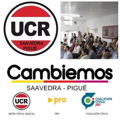Actividad radical  e invitación a Jornada de Trasparencia  para ediles de Cambiemos