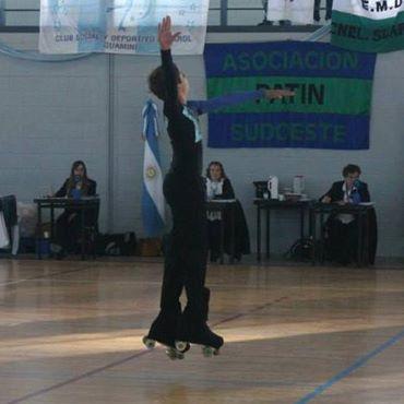 Patín Artístico - Primer puesto para Lucas Salas Kent en el Open de Rosario Disciplina Escuela.