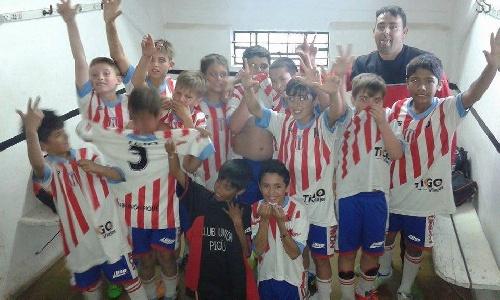 Futbol Infantil - Unión Pigüé finalizó 7° en el torneo Patoruzito al vencer a Deportivo Sarmiento Verde.