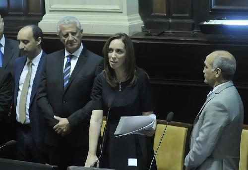 Diez definiciones importantes de  la gobernadora bonaerense en su asunción