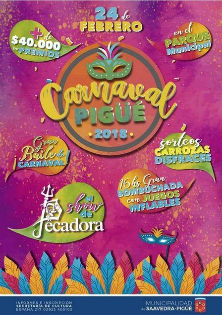Carnavales Pigüé 2018