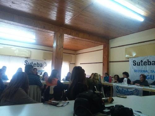Suteba también convoca al paro de 24 hs.en la provincia de Bs As