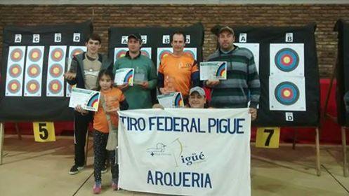 Tiro Federal Pigüé participó en el Concurso de Arqueria realizado en la ciudad de 9 de Julio