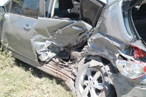 Choque de dos automóviles en la ruta Pcial 67 sin lesionados- Vecino piguense involucrado