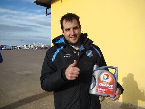 TC del SudOeste en Viedma . Emanuel Alaux y la pole position en la clasificación del día sábado. .