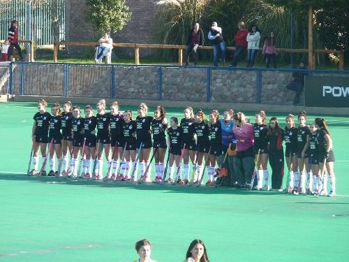 Liga Nacional Hockey Femenino - Cuarta posición para Atlético Monte Hermoso con Ivana Mazars presente en el marcador.