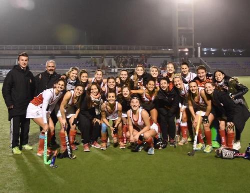 Hockey Femenino - Ivana Mazars goleadora en Atlético Monte Hermoso clasificado a semifinales en Mar del Plata.