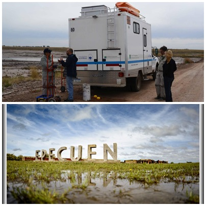 La ciencia internacional busca medicamentos del futuro en el Lago Epecuén