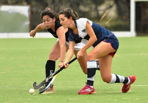 Hockey Femenino - España - Dos goles de Ivana Mazars para el triunfo del Hockey San Fernando en su debut en la divisional.
