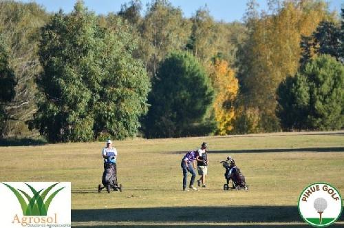 Actividad del Golf Pihue - Juani Tigri y Matías De Caso ganaron el Torneo Peña Hierro 5
