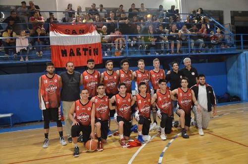 Basquet Valle Inferior - San Martín conducido por Fiorido se proclamó subcampeón Clausura 18.