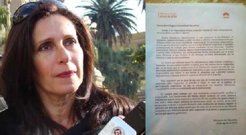 La cuñada de Alperovich ordena que se enseñe que no habrá nuevas elecciones