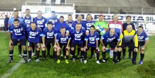Fútbol del Recuerdo - Union Pigüé cayó goleado ante El Progreso.