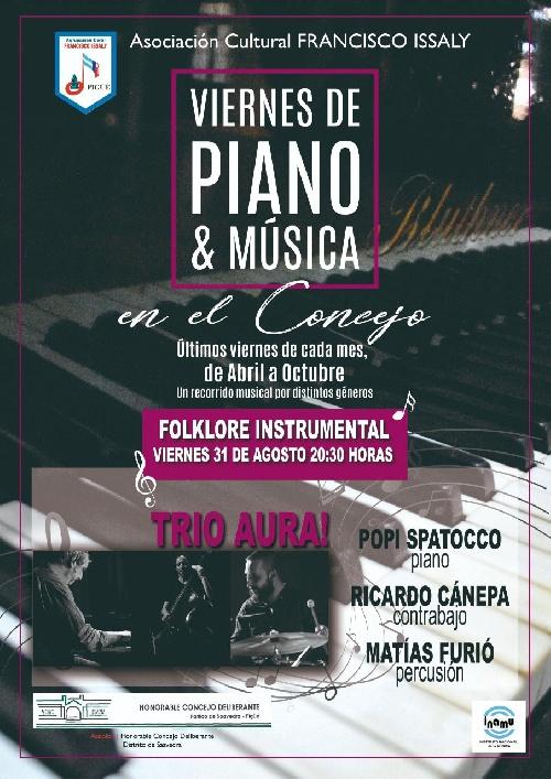 PIGÜÉ: VIERNES DE PIANO Y MUSICA EN EL HCD