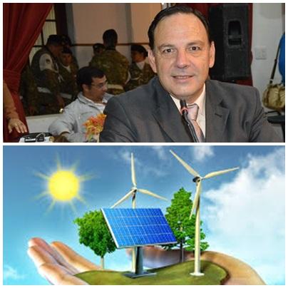 El concejal Luis Sevenié presenta un innovador proyecto de Ordenanza para la promoción de energías renovables en el distrito