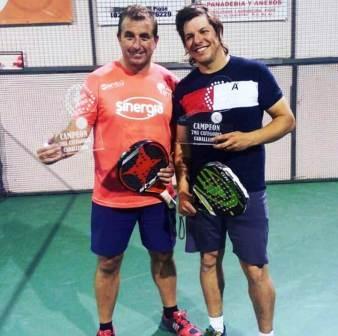 Padel - 7ma Categoría - Pablo Migliavaca y Ariel Garcia ganadores en torneo local.