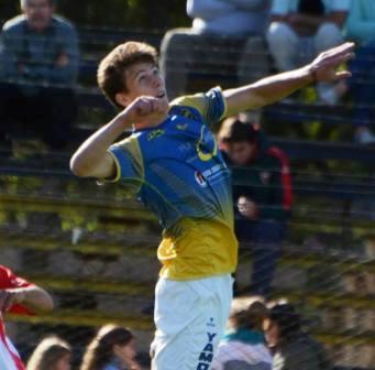 LRF - Maximiliano Graff con 5 goles lidera la tabla de artilleros en 1ra división.