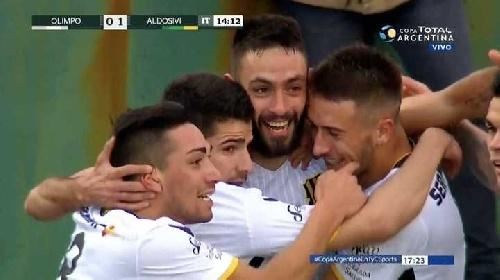 Copa Argentina - Olimpo venció por penales a Aldosivi de Mar del Plata.