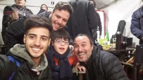Una Caricia al corazón: Eugenio cumplió su sueño en la fiesta de la primavera de Pigüé