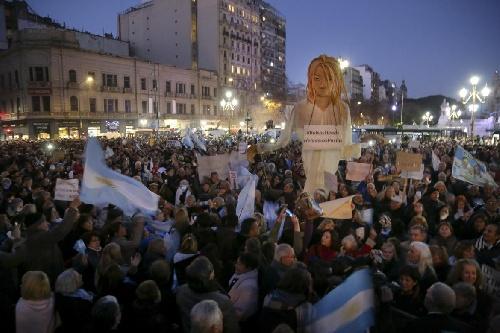 #21A: multitudinaria marcha frente al Congreso Nacional y réplicas en todo el país