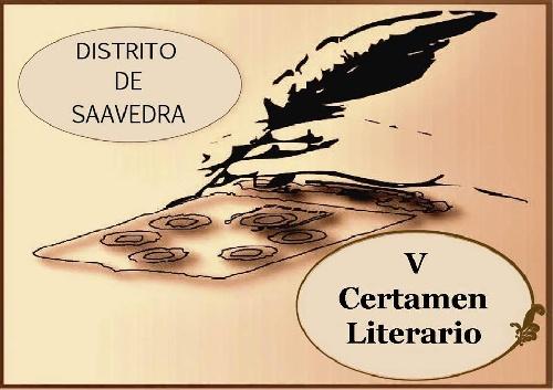 "SAAVEDRA: V CERTAMEN LITERARIO DISTRITAL ""NILDA MABEL BISCAICHIPY""."