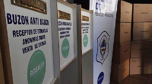 Buzones antinarco:  distritos de la región se suman a la instalación