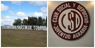 Subsidio de la Secretaría de Deportes de Nación al Club Juventud Agraria de Colonia San Martin de Tours