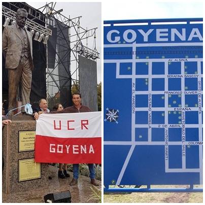 Reunión radical en Goyena