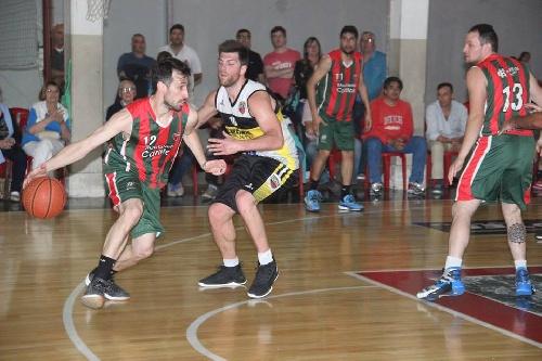 Basquet Tres Arroyense - Deportivo Sarmiento venció a El Nacional y clasificó a semifinales.