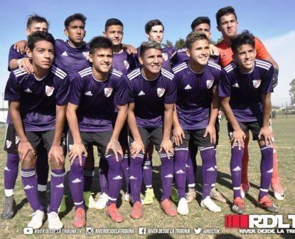 Afa - Inferiores - River con Gabi Mercado venció a Talleres en 8va división.