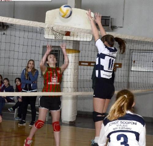 Voley Femenino - Actividad del Club Sarmiento en el fin de semana.
