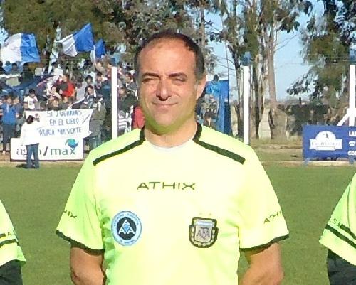 Primera B Metropolitana - Andres Prendel será asistente uno el próximo sábado en el Bajo Belgrano.