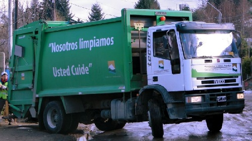 Pigüé: recolección domiciliaria de residuos el finde extra largo