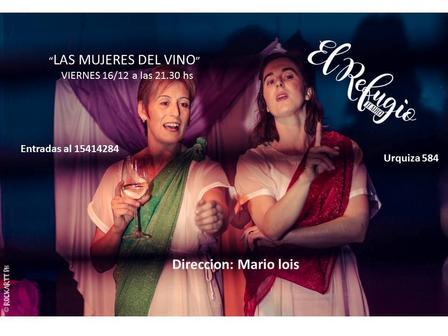 Finde con teatro y música en el Centro Cultural El Refugio