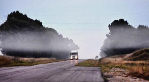 Nuevo comunicado de Vialidad: continúa durante la noche el corte total de tránsito en la R.N.Nº 33 - Desvios