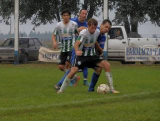 LRF - Atlético Huanguelén y San Martín de Santa Trinidad adelantan el partido el viernes