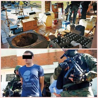 Drama de Costa Salguero: cómo fabrican las nuevas drogas sintéticas