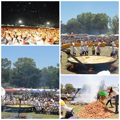 Omelette Gigante Gratuita para el 133º aniversario de la ciudad de Pigüé - Cronograma actividades del Domingo