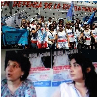 """Pigüé : dirigentes locales del SUTEBA denunciaron """" militarización y  represión impresionantes"""""""