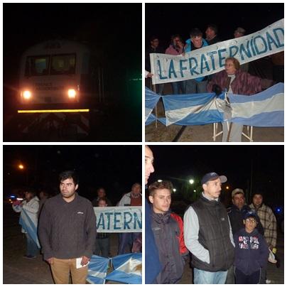 Nuevamente vecinos saavedrenses detuvieron el tren en protesta