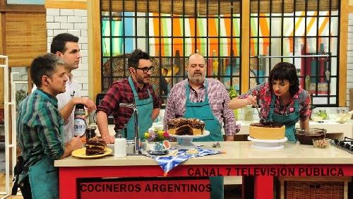 La Omelette de la fiesta de Pigüé en directo en la TV Nacional Canal 7